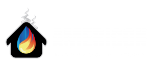 Americon Restoration white logo